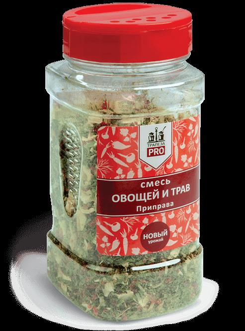 смесь овощи и травы Трапеза pro 125г.