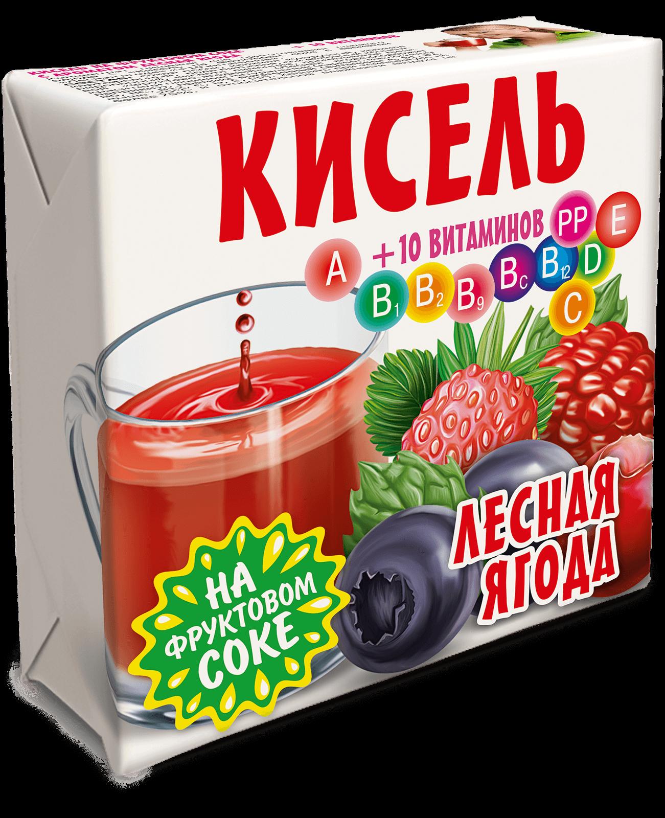 кисель Лесная ягода Трапеза 220г.