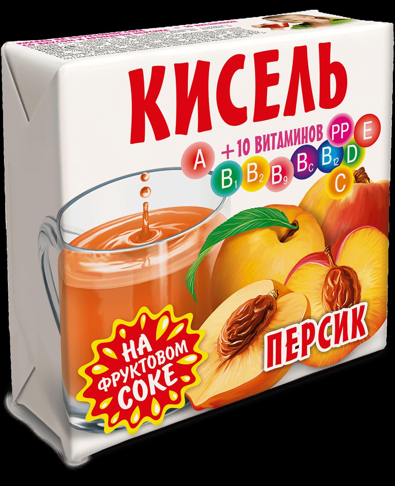 кисель Персиковый Трапеза 220г.