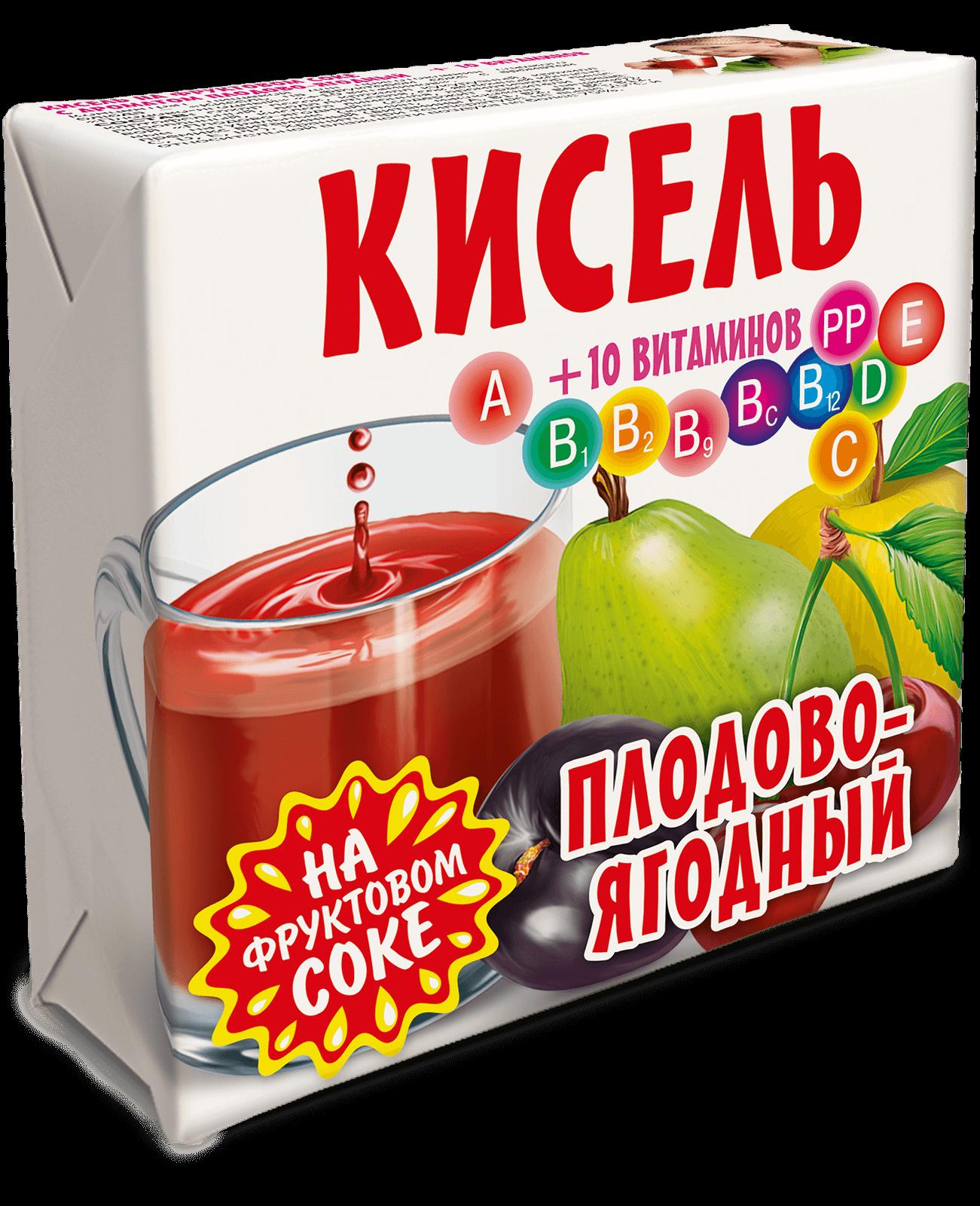 кисель Плодово-ягодный Трапеза 220г.