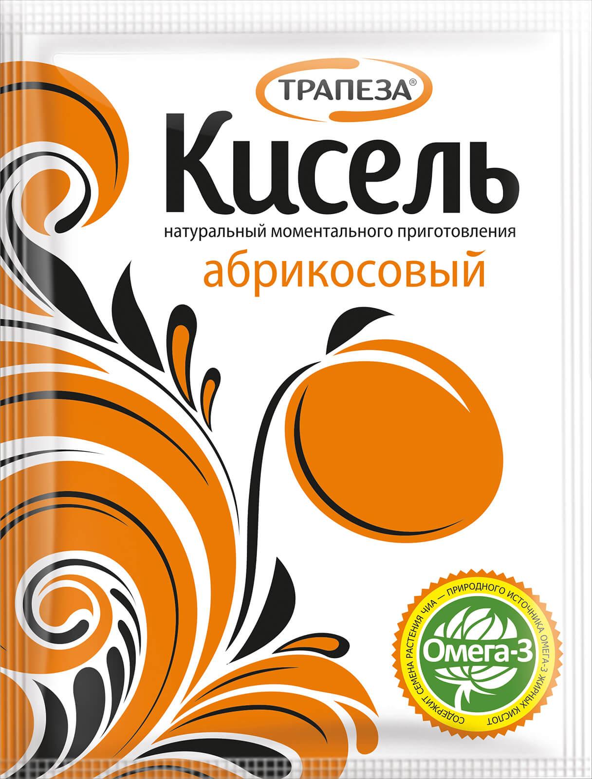 кисель абрикосовый трапеза
