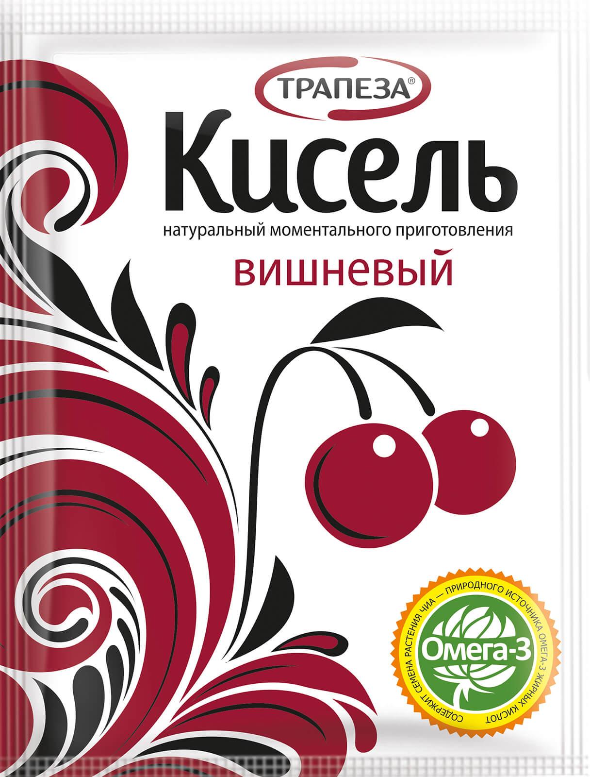 кисель вишневый трапеза