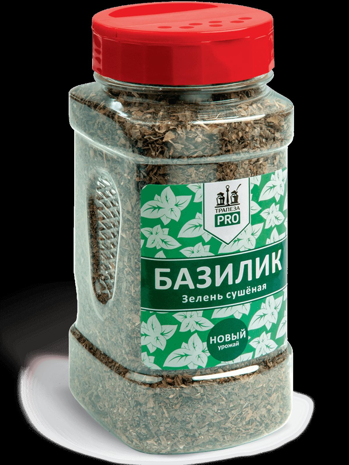 Базилик зелень сушеная 100г Трапеза PRO